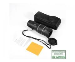 Монокуляр (оптика для наблюдения) 40х60 c креплением для смартфона.